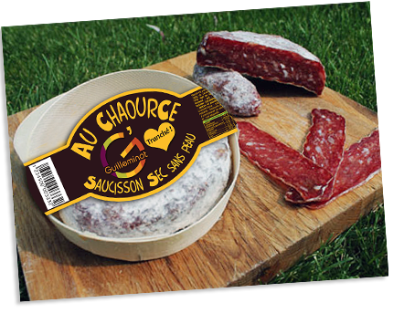 Chaour'Sec - Saucisson au Chaource de Cyril Guilleminot